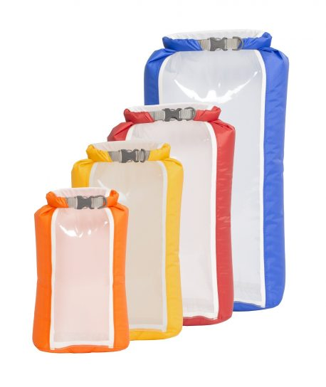 Exped Fold Drybag Clearsight XS-L 4pk