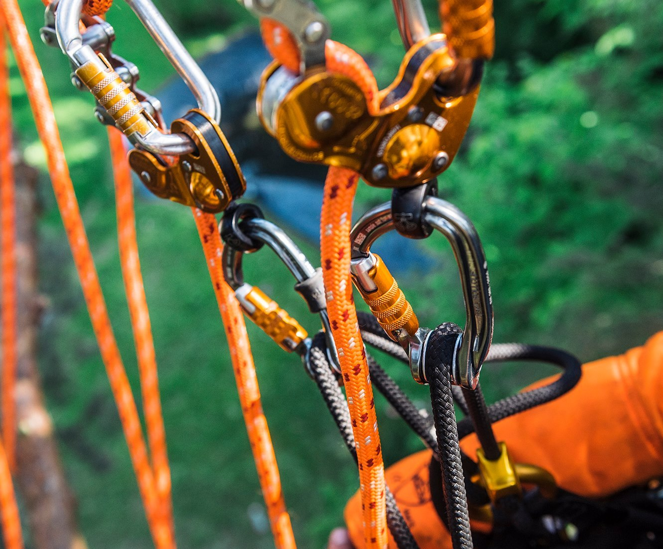 Managing Equipment in Outdoor Centres - A close up of a bicycle - Climbing Hardware